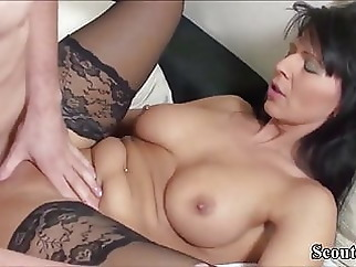 squirting anal fingering